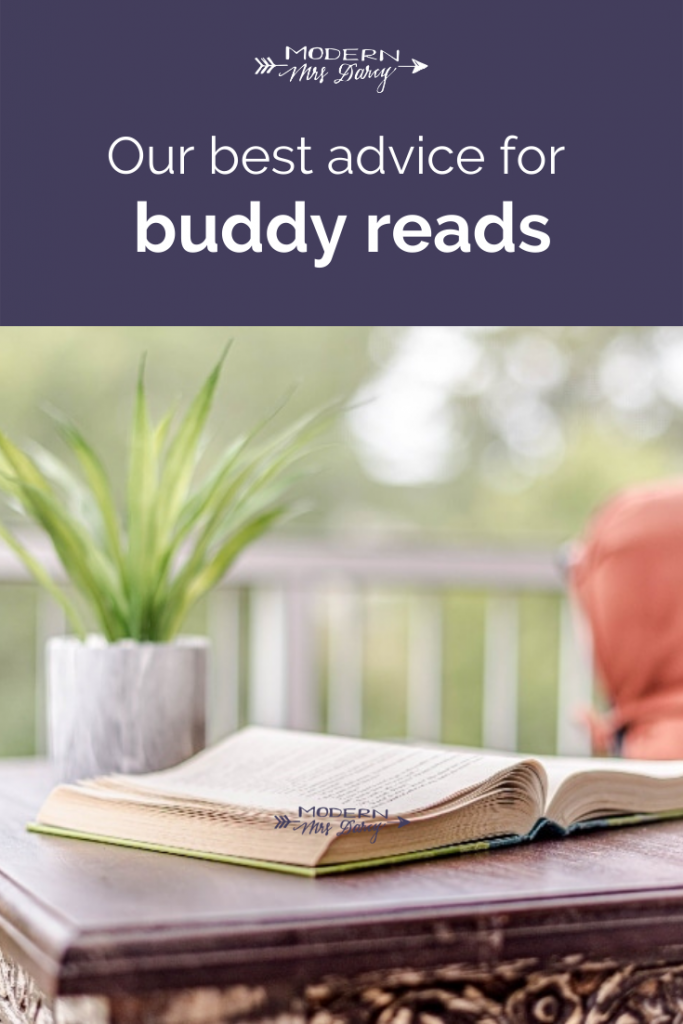 Our best advice for buddy reads
