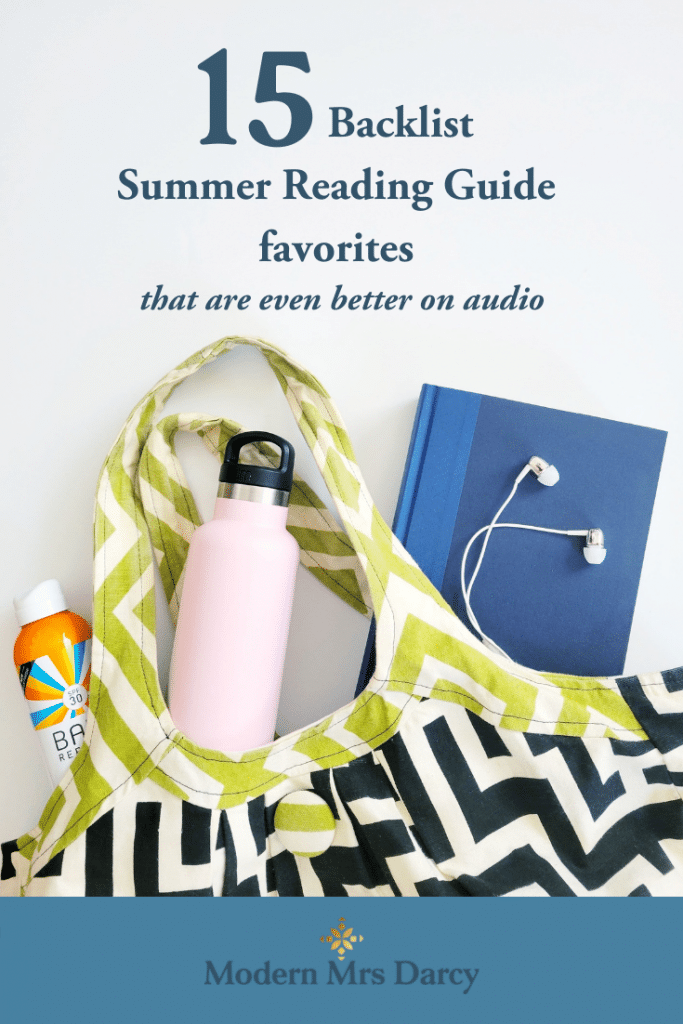 15 Backlist Summer Reading Guide favorites that are even better on audio