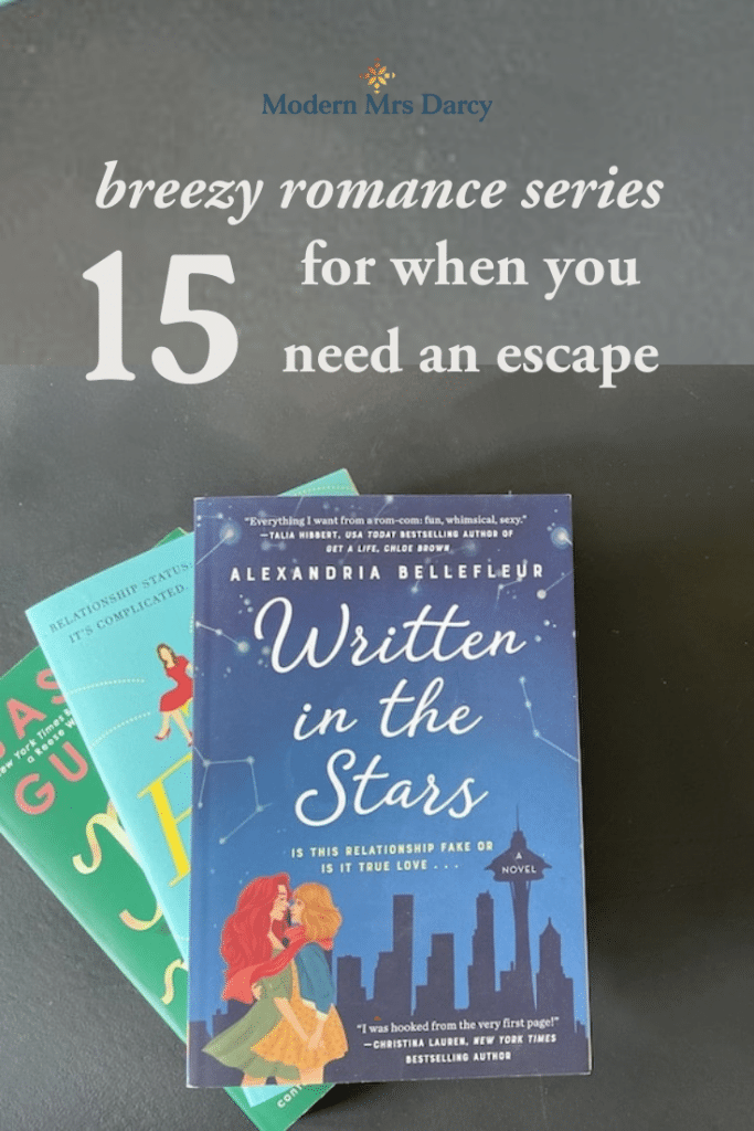 15 breezy romance series for when you need an escape
