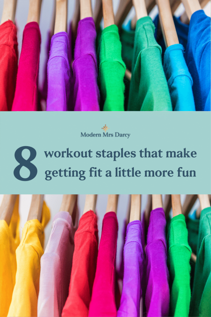 8 workout staples that make getting fit a little more fun