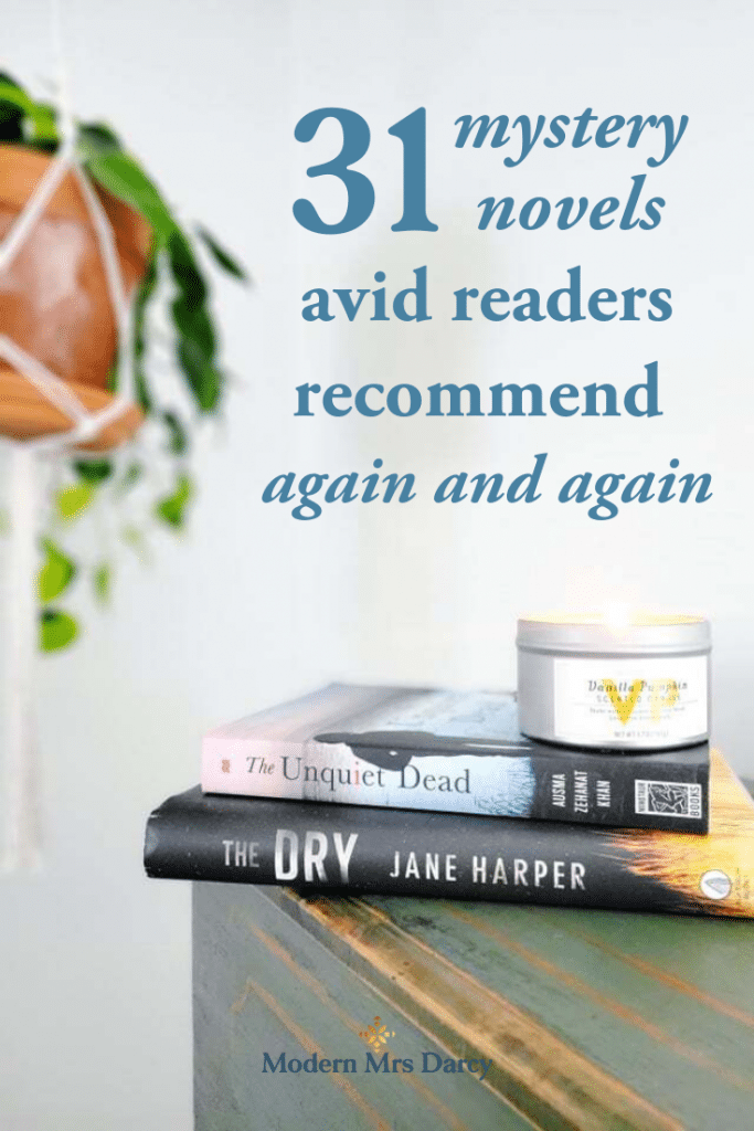 31 mystery novels avid readers recommend again and again