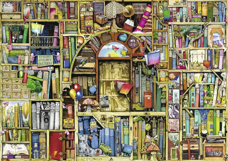 Ravensburger Bizarre Bookshop 2 1000 Piece Jigsaw Puzzle