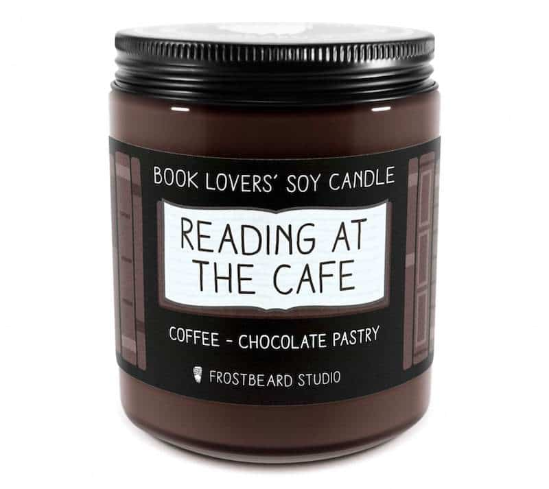 Reading at the Cafe Candle