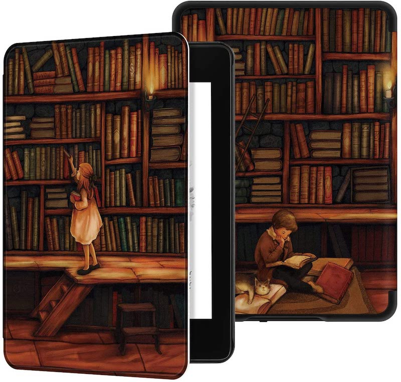 The Library Water Safe Case for Kindle Paperwhite
